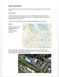 Event Information Image